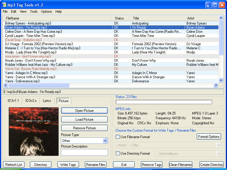 Mp3 Tag Tools 1.2 full